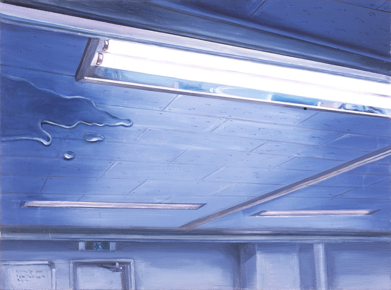 Ceiling & Light II | Oil on Canvas | 72X53 cm | 2007