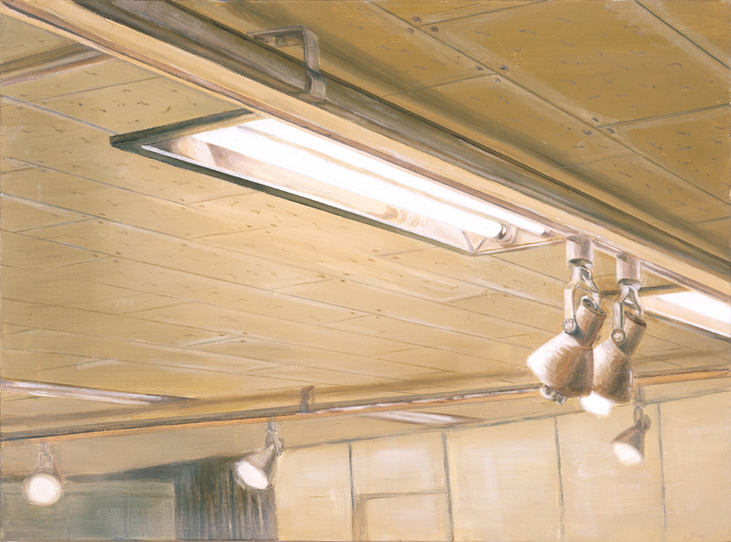 Ceiling & Light IV | Oil on Canvas | 72X53 cm | 2007