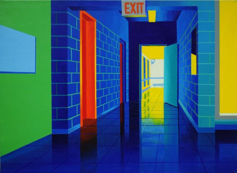 Open Door   Acrylic on Canvas   29X21 in   2012 (Sold)