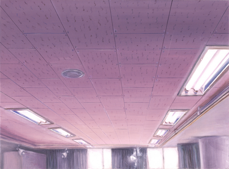 Ceiling & Light IX | Oil on Canvas | 72X53 cm | 2007
