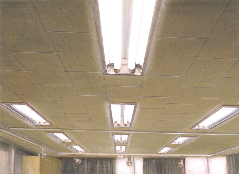 Ceiling & Light X | Oil on Canvas | 91X65 cm | 2007