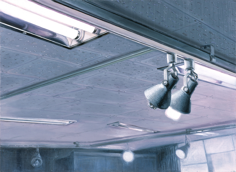 Ceiling & Light V | Oil on Canvas | 91X65 cm | 2007
