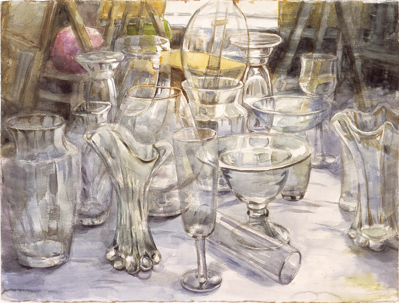 GLASS l | Watercolor on Paper | 75X56cm | 2007 (SOLD)