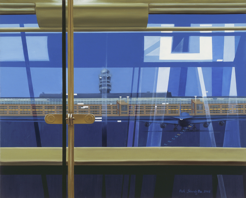 Image of Airport I | Oil on Canvas | 130X162cm | 2008