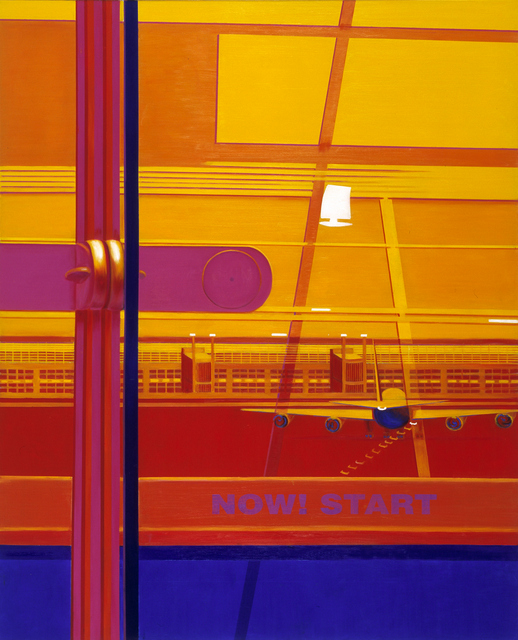 Image of Airport II | Oil on Canvas | 130X162cm | 2009