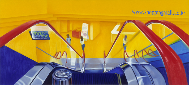 Shopping Mall | Oil on canvas | 80X180cm | 2010