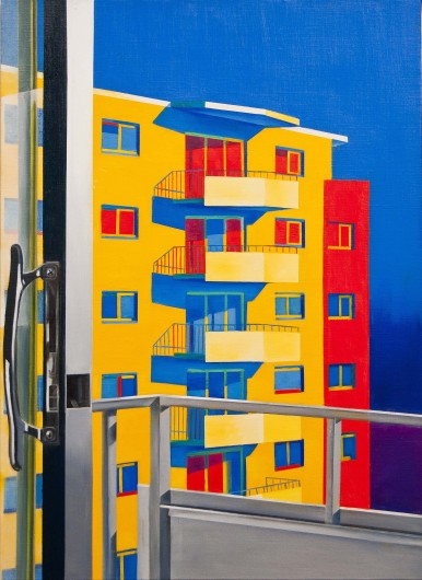 The Apartment   Oil on Canvas   21X29 in   2012